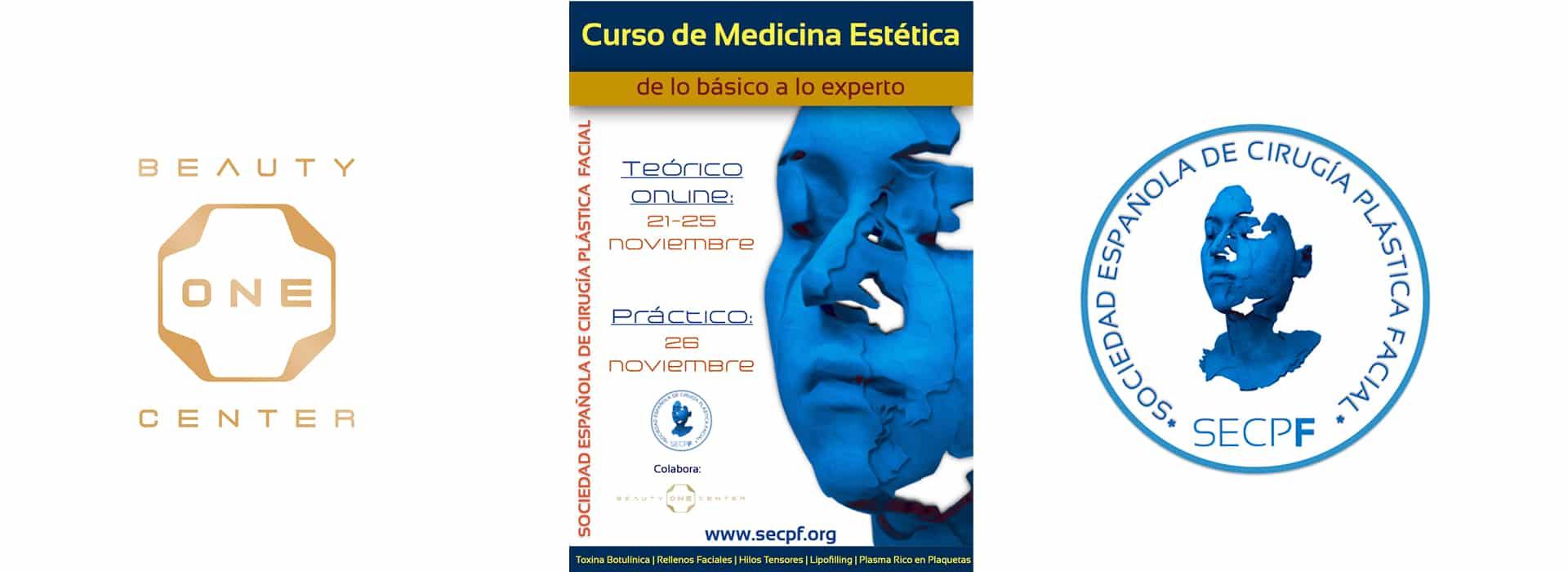 Curso de medicina estetica en Beauty ONE Center organizado por la SECPF