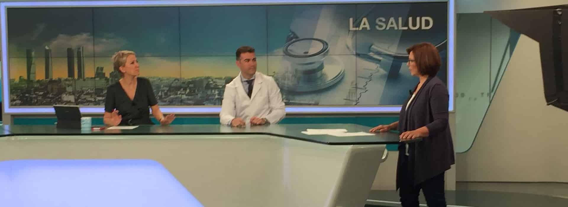 rinoplastia con el dr galindo en Madrid Contigo de Telemadrid