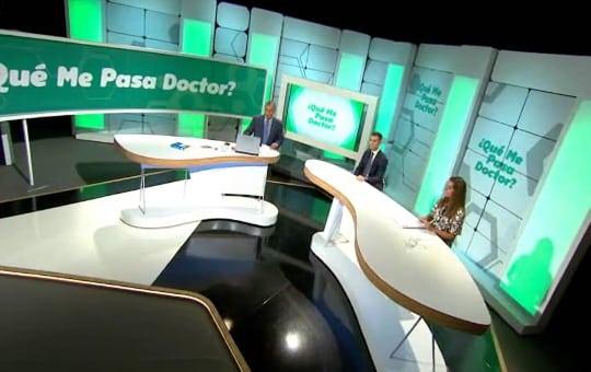 Dr. Javier Galindo en el programa que me pasa doctor de atresmedia