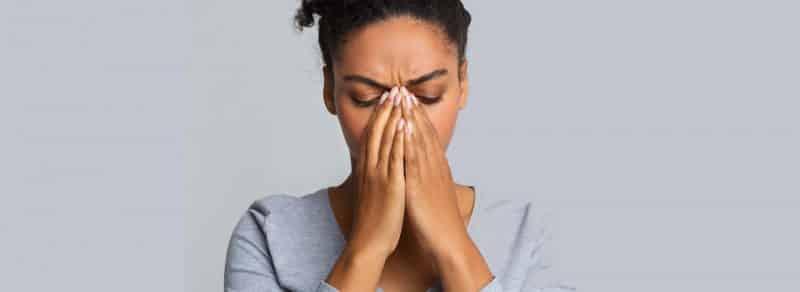 Tabique nasal perforado